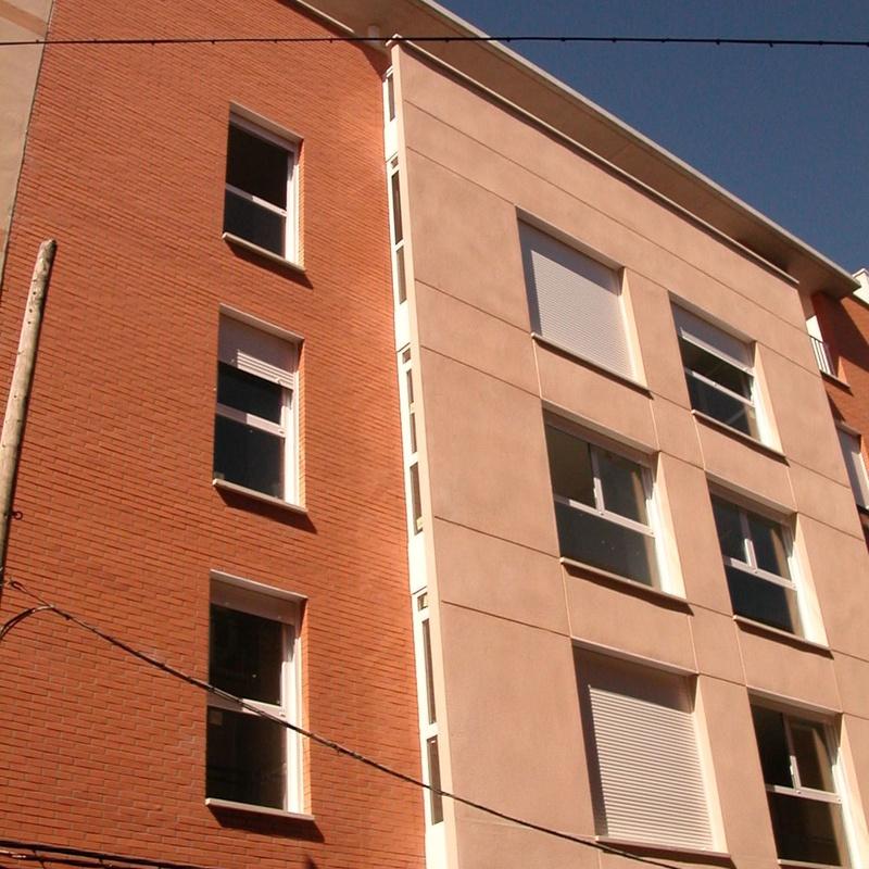 Edificio de viviendas, calle Lugo, Zaragoza.