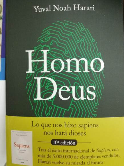 Homo Deus: SECCIONES de Librería Nueva Plaza Universitaria