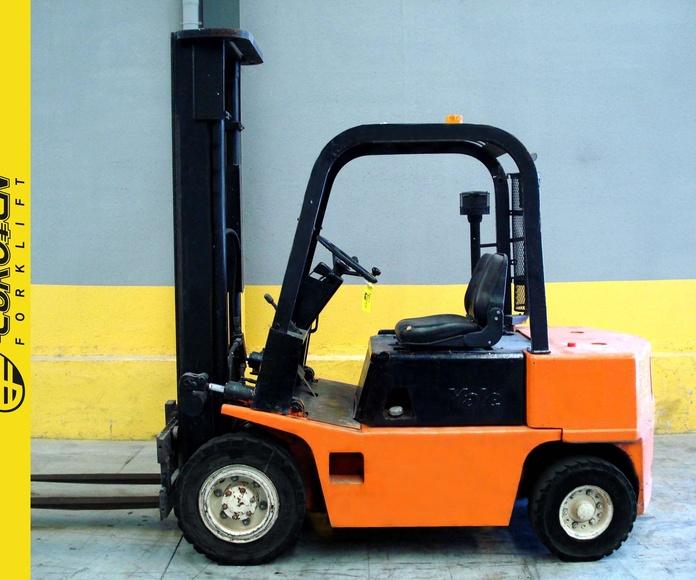 Carretilla diesel YALE Nº 5248: Productos y servicios de Comercial Euroyen, S. L.