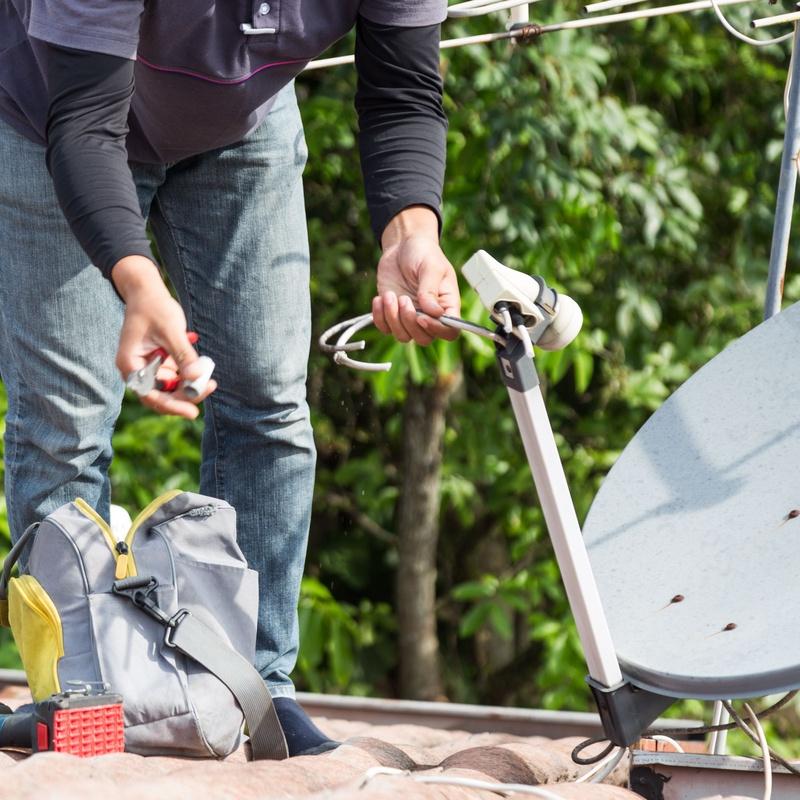 Instalación de antenas: Servicios de Montajes Eléctricos Pascua