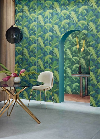 Papel pintado tropical Cole & son Vigo