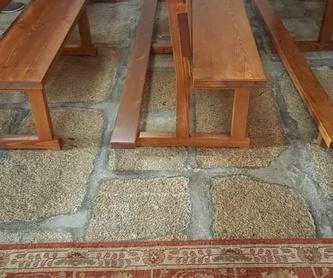 Casetas / cobertizos: Productos y Servicios  de Carpintería Florencio Veiga