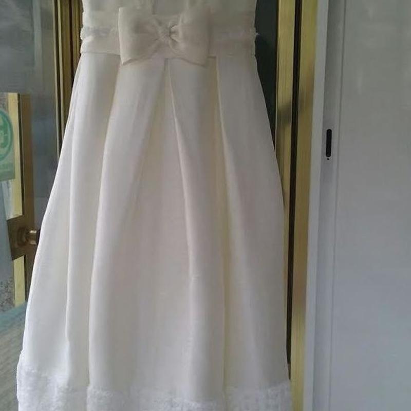 Limpieza de vestido de comunión