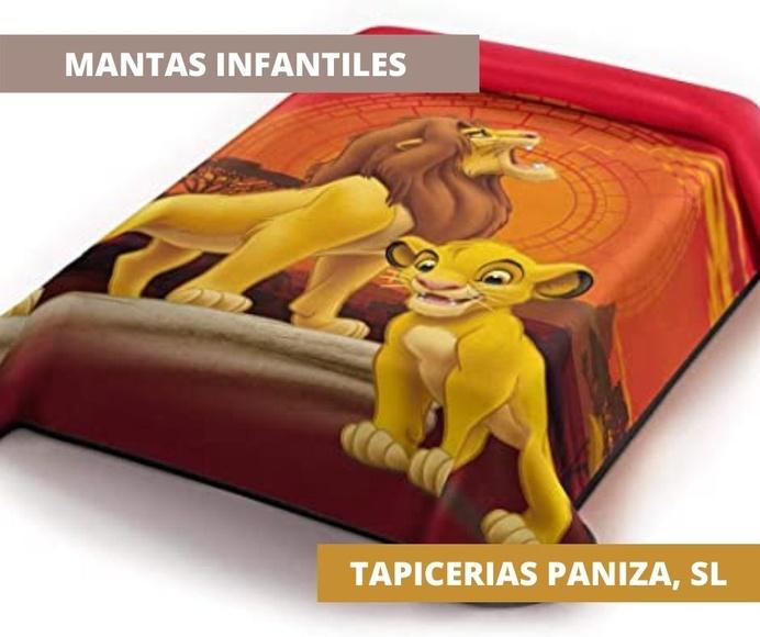COMPRAR MANTAS INFANTILES PALMA DE MALLORCA. TIENDA: TAPICERIAS PANIZA