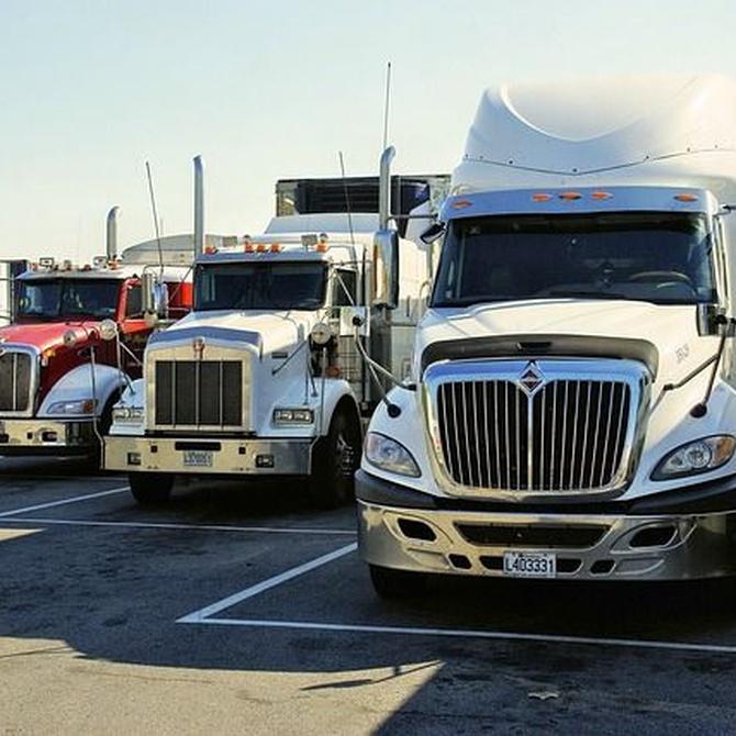 Características de un camión de carga pesada