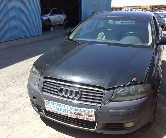 Audi a3 año 2004 para desguace en Chatarras Clemente de albacete
