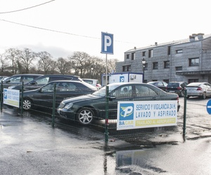 Parking con gran capacidad de plazas