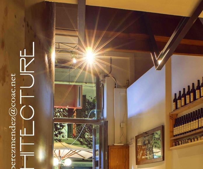 Louise Se Va  Bar Restaurante  Sitges  Barcelona    FPMarquitectura: Proyectos  architectsitges.com de FPM Arquitectura