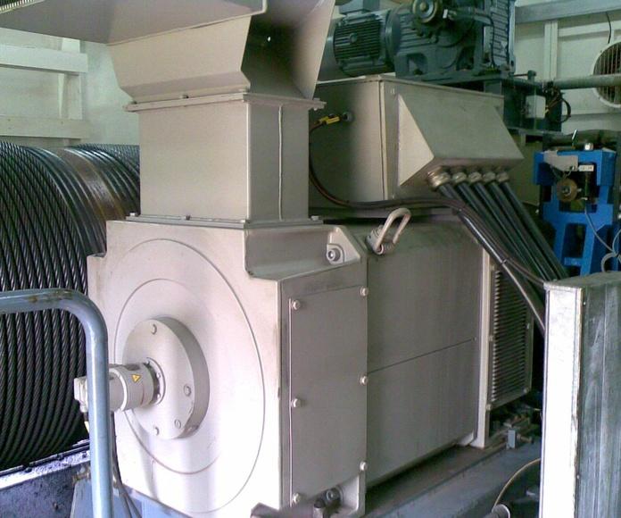 Motores corriente continua : Servicios de Talleres Tomas Pascual