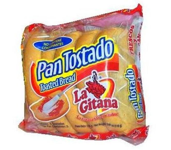 Pan tostado La Gitana: PRODUCTOS de La Cabaña 5 continentes