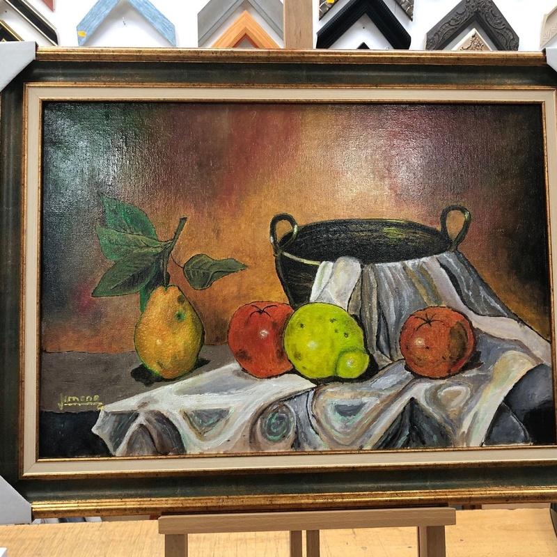 Enmarcación de óleos: Marcos y molduras de Arte Muñoz
