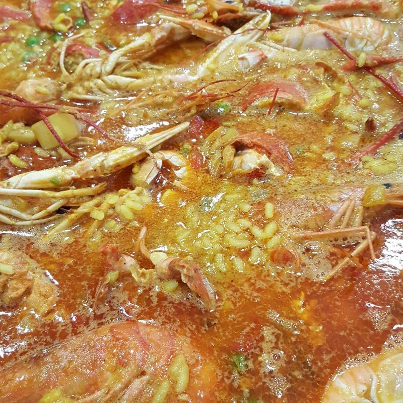 Arroces y fideos: Carta y menús de Restaurant Ran de Mar