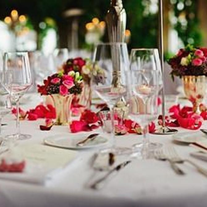 Banquete de boda de día o de noche: ¿cuál es la mejor opción?