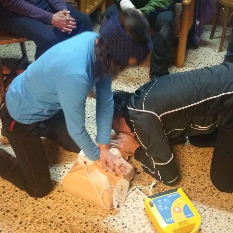 DIA 28 Noviembre  Taller de primero auxilios 1º Sesión : CALENDARIO DE ACTIVIDADES de Asdón Multiaventura