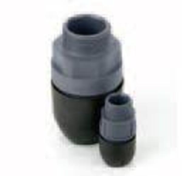 Conectores roscados macho de polímero (rosca BSPT)