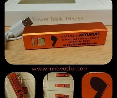 Power bank: un regalo ideal para tu empresa y económico en Asturias