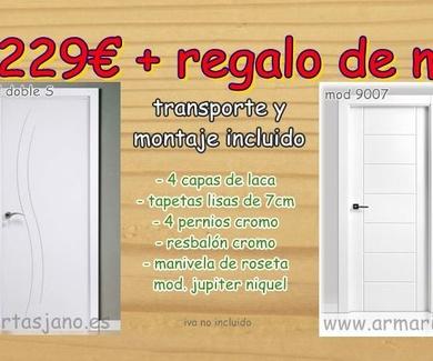 Puertas baratas en Madrid y Toledo