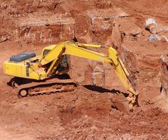 Servicios añadidos: Catálogo de Excavaciones y Derribos Juanma Ramos