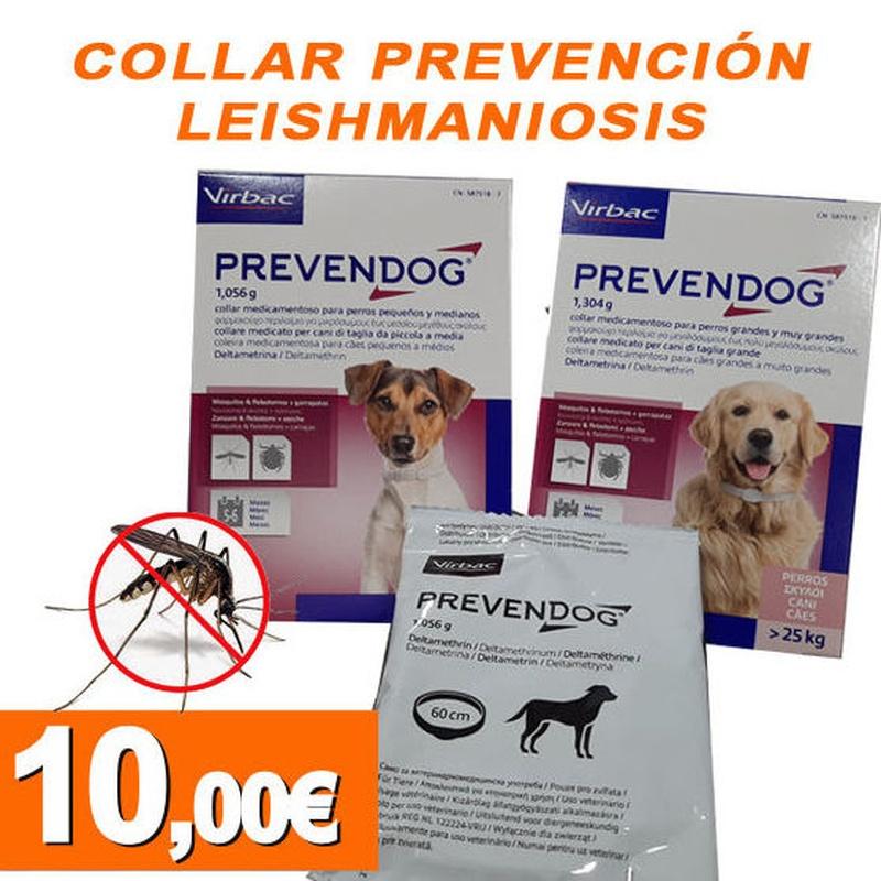 Collar prevención leishmaniosis:  de Clínica Veterinaria Rocafort
