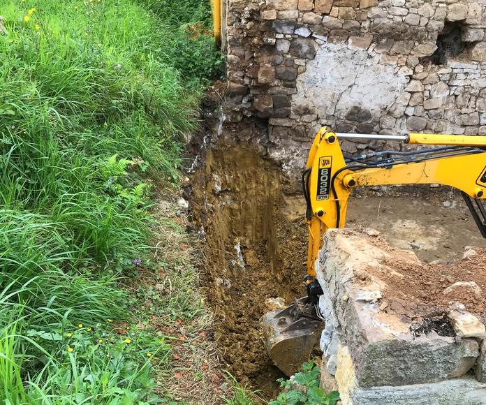 Excavaciones y movimientos de tierras: Construcciones  de Construcciones Espiniella