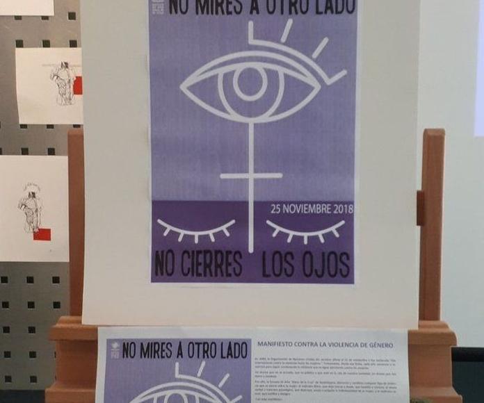 MANIFIESTO CONTRA LA  #ViolenciadeGénero #ViolenciaMachista #ViolenciaContraLaMujer