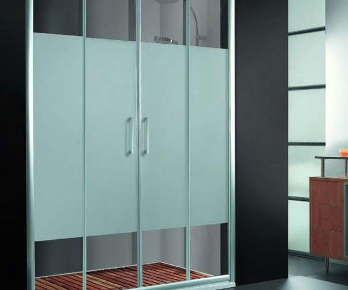 Mampara de ducha de puertas correderas : Productos y servicios de Metal Masa, S.L.
