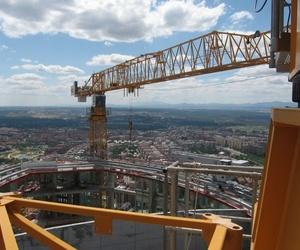 Alquiler de grúas torre en Madrid