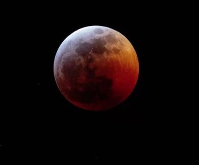 Estas son las fotos más increíbles del eclipse lunar (luna de sangre)