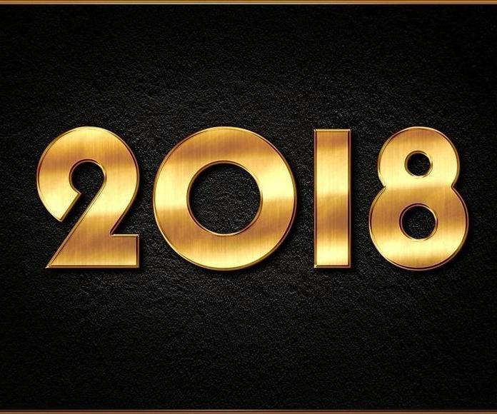 ¡Feliz año 2018