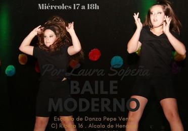 Baile Moderno - Infantil a partir de 8 años
