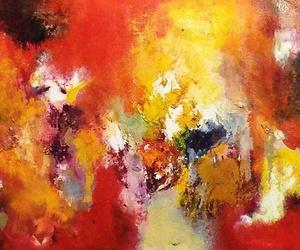 Abstracto de Álban Torres.