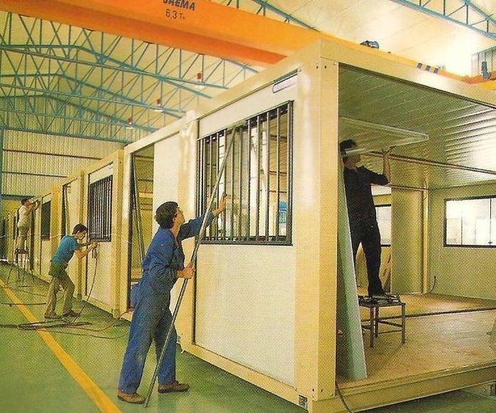 Proceso de fabricación en cadena 1987