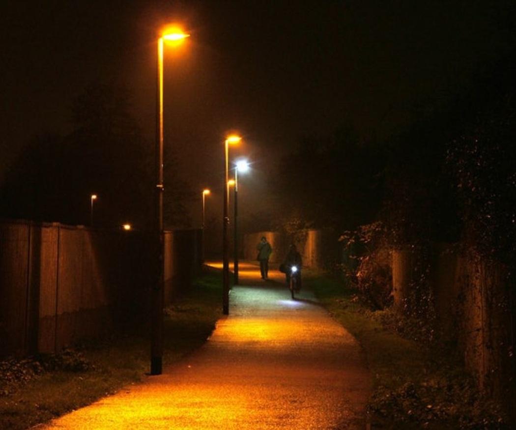 Usos de la iluminación LED en exteriores