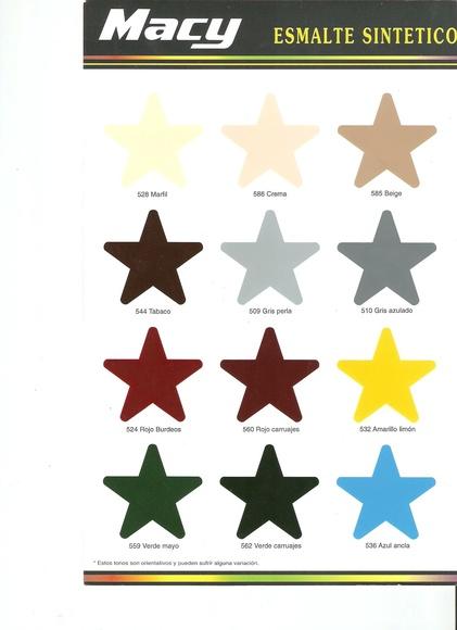 Carta Colores Forja 1: Catálogo de muebles de forja de Forja Manuel Jiménez