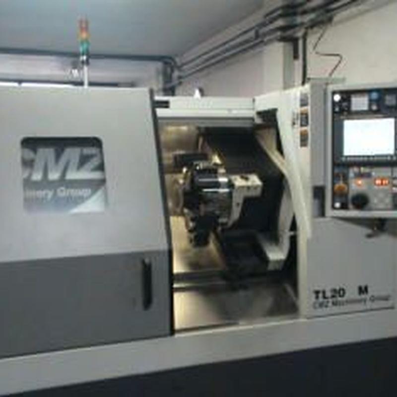 Maquinaria CNC: Productos de Talleres Luse