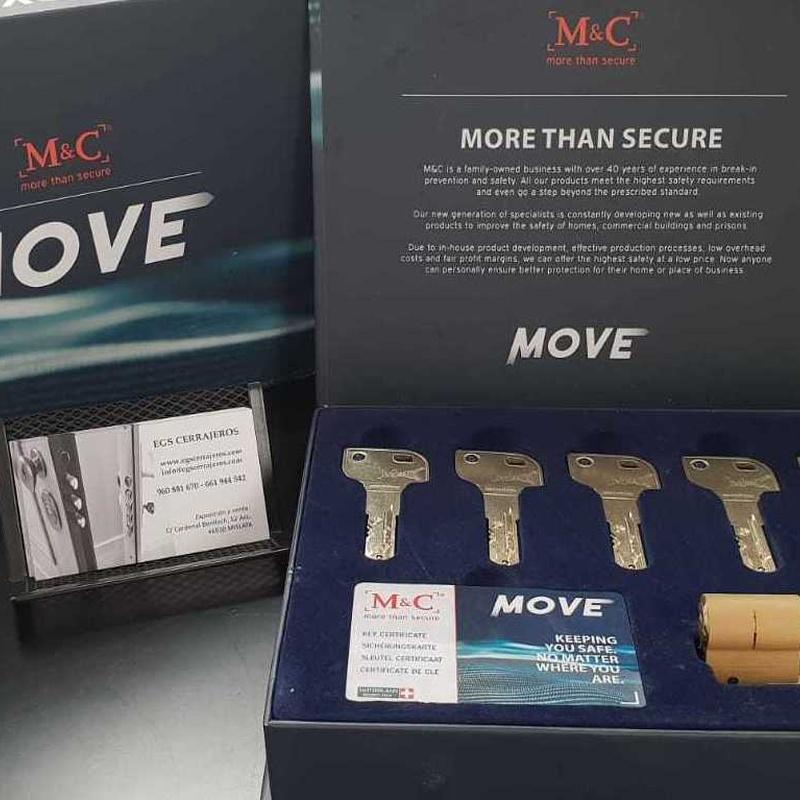M&C Move Serie Premium:  de EGS CERRAJEROS