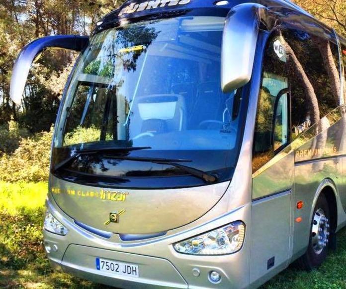 Empresa de autocares en Sant Quirze del Vallés