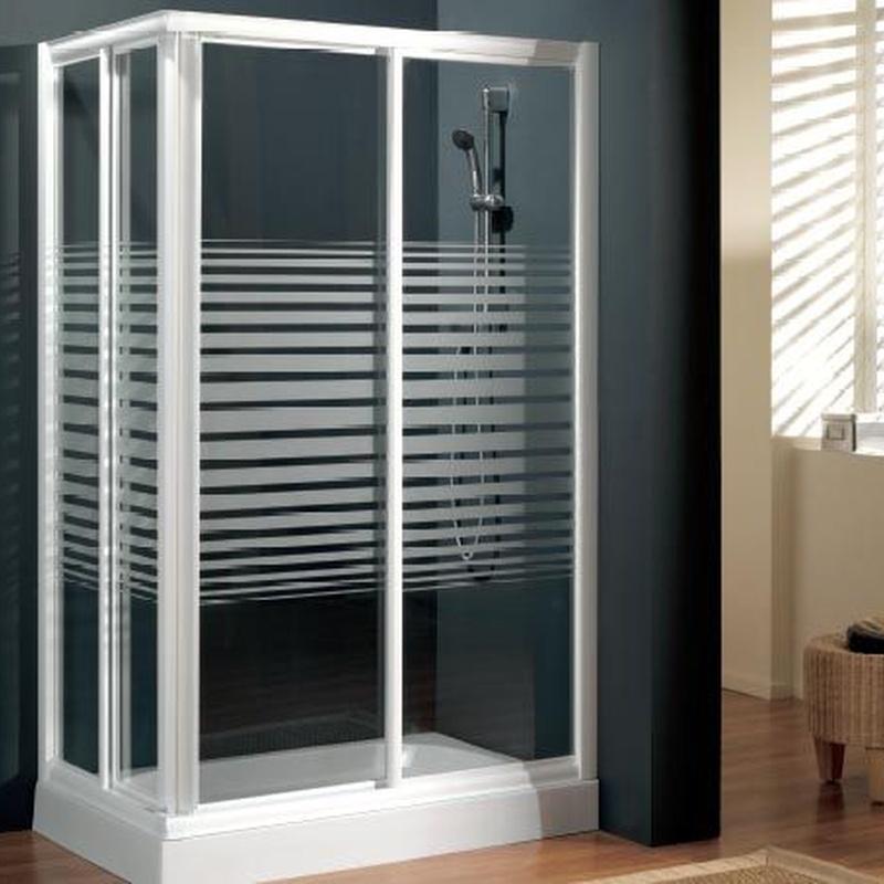 Conjunto ducha 100 x70: Catálogo de Saneamientos Sierra