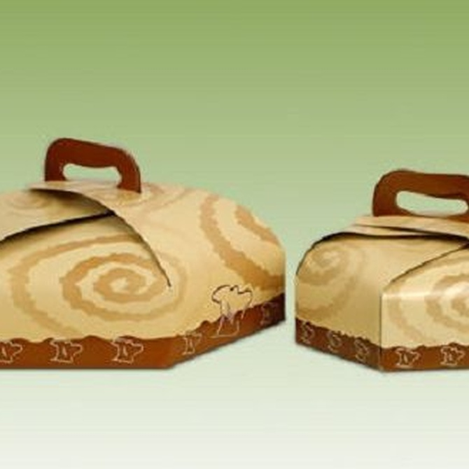 Las cajas de cartón, ideales para repostería