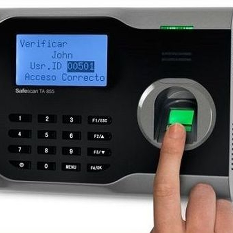 Lector biometrico