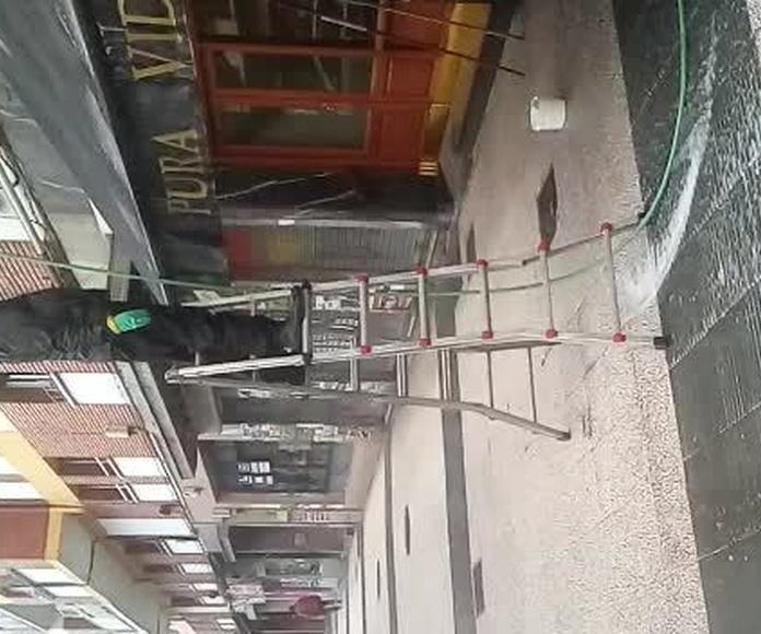 Limpieza de toldos: Servicios de Limpiezas Frederic