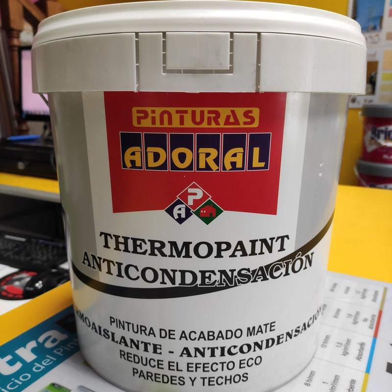 Thermopaint Anticondensación: Servicios y productos de Hnos. Guerrero, S.L.