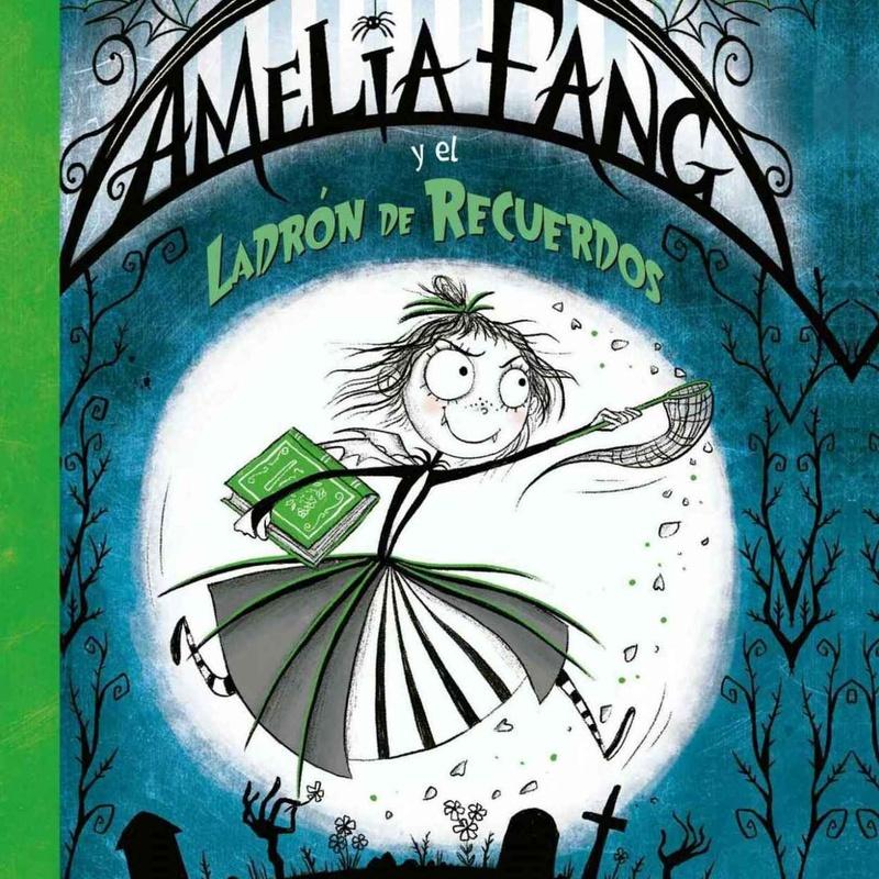 AMELIA Y EL LADRÓN DE RECUERDOS: El Bosque de las Palabras de Librería Infantil El Hada Lucía