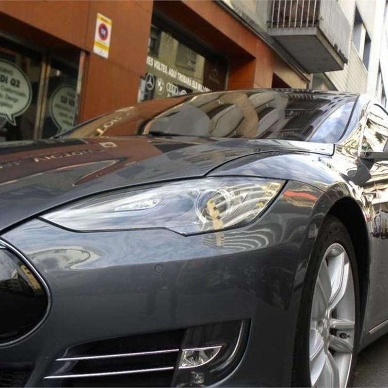 Tesla Model S 90D 4WD 5p. - Eléctrico: Servicios de Comercial Víctor