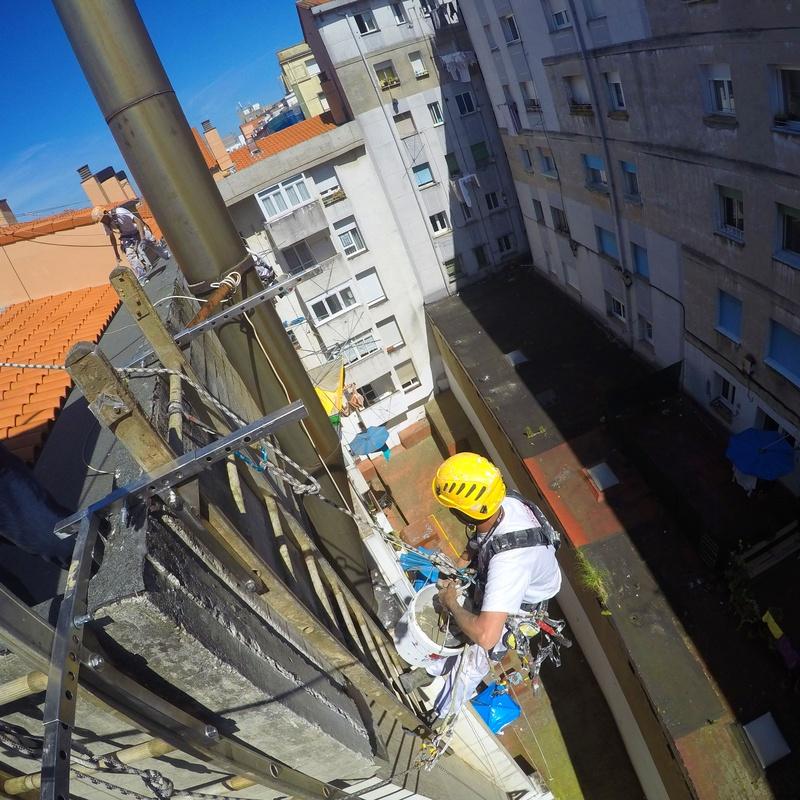 Reparación de aleros Santander-Cantabria.