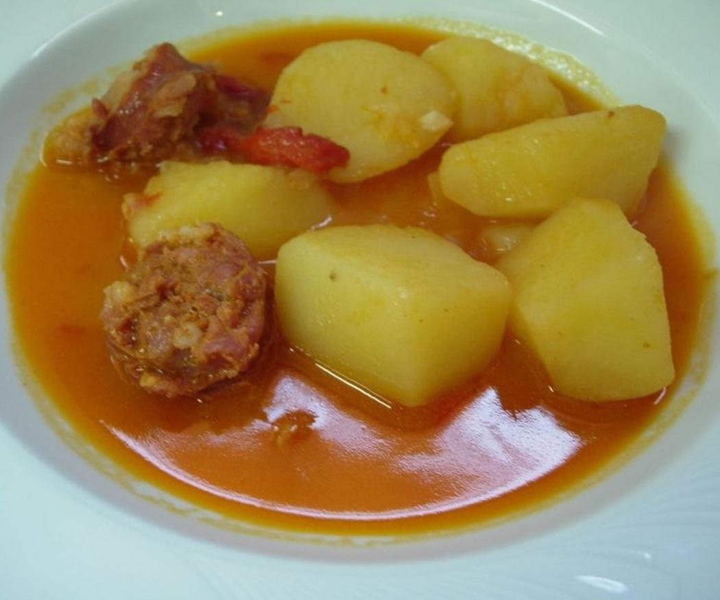 Las patatas a la riojana