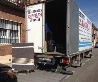 Servicio básico: Servicios de Mudanzas Zamora