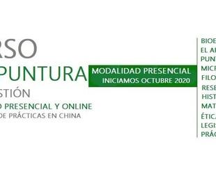 Curso Acupuntura & Moxibustión Presencial y Semipresencial Octubre 2021