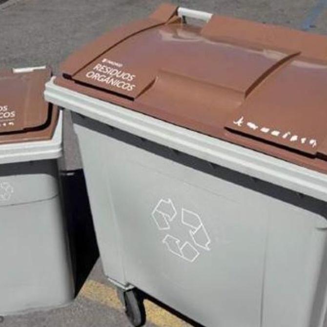 ¿Conoces el nuevo cubo marrón para la basura?
