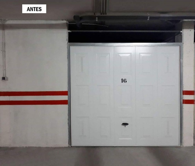 Puertas de garaje en aluminio